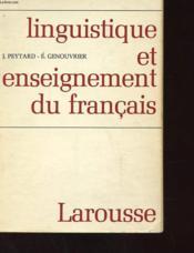 Linguistique Et Enseignement Du Francais - Couverture - Format classique