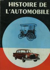 L'Histoire De L'Automobile - Couverture - Format classique