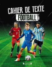 Vente  Cahier de texte football  - Collectif
