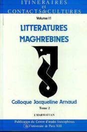 Litteratures(2)Maghrebines - Couverture - Format classique