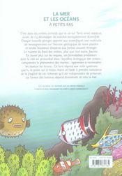 A Petits Pas ; La Mer Et Les Océans - 4ème de couverture - Format classique