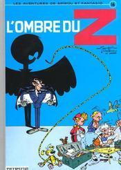 Spirou et Fantasio t.16 ; l'ombre du Z - Intérieur - Format classique