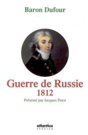 Guerre de russie 1812 - Couverture - Format classique