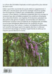 Orchidees - 4ème de couverture - Format classique