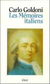 Les mémoires italiens - Couverture - Format classique