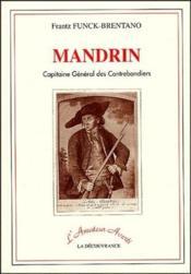 Mandrin, capitaine général des contrebandiers - Couverture - Format classique