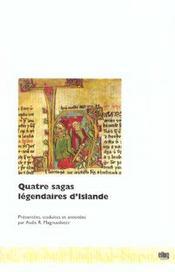 Quatre sagas légendaires d'Islande - Intérieur - Format classique