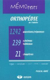 Orthopedie Memotest - Intérieur - Format classique