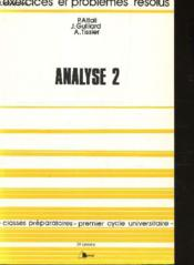 Analyse 2 exercices corr - Couverture - Format classique