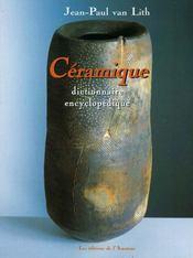 Dictionnaire encyclopédie céramique - Intérieur - Format classique