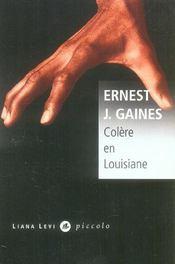 Colere en louisiane - Intérieur - Format classique