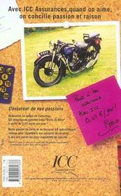 Le guide du collectionneur moto (édition 2004) - 4ème de couverture - Format classique