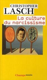 La culture du narcissisme - Couverture - Format classique