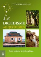 Le druidisme au quotidien - Couverture - Format classique