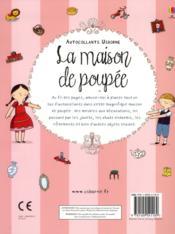 La maison de poupée - 4ème de couverture - Format classique