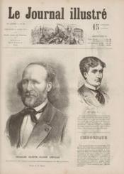 Journal Illustre (Le) N°16 du 19/04/1874 - Couverture - Format classique