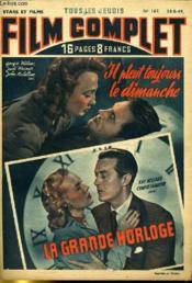 Stars Et Films - Tous Les Jeudis Film Complet N° 167 - Il Pleut Toujours Le Dimanche - La Grande Horloge - Couverture - Format classique