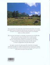 Randonnees En Alpages - 4ème de couverture - Format classique