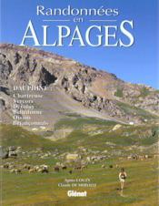 Randonnees En Alpages - Couverture - Format classique