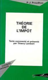 Theorie De L'Impot - Intérieur - Format classique