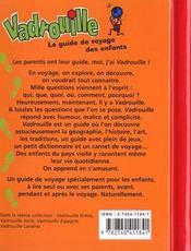 Vadrouille Maroc - 4ème de couverture - Format classique