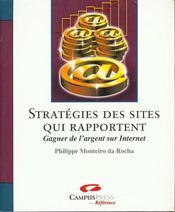 Stratégies Des Sites Qui Rapportent. Gagner De L'Argent Sur Internet - Intérieur - Format classique
