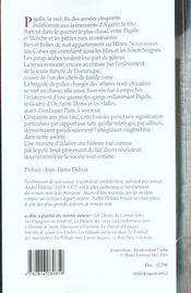 Descente A Pigalle - 4ème de couverture - Format classique