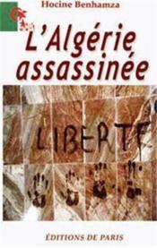 L'Algérie assassinée - Couverture - Format classique