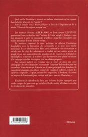 Les Orphelins Enfants De Le Patrie ; A Bordeaux Sous La Revolution - 4ème de couverture - Format classique