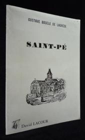 Saint-Pe - Couverture - Format classique