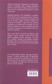 Les business angels - 4ème de couverture - Format classique