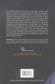 300 Questions A Un Astronome - 4ème de couverture - Format classique