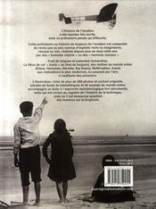 Rêve De Vol - Les origines de l'aviation - 4ème de couverture - Format classique
