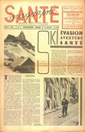 Sante Magazine N°85 du 01/02/1939 - Couverture - Format classique