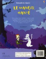 Le manoir hanté - 4ème de couverture - Format classique