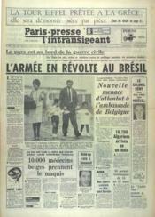 Paris Presse L'Intransigeant N°6009 du 02/04/1964 - Couverture - Format classique