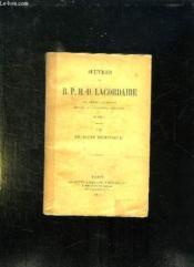 Vie De Saint Dominique. - Couverture - Format classique