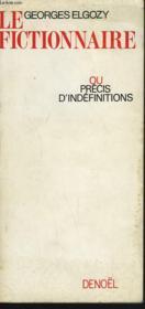 LE FICTIONNAIRE ou PRECIS D'INDEFINITIONS - Couverture - Format classique