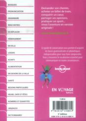 Guide De Conversation ; Portugais Et Portugais Bresilien (5e Edition) - 4ème de couverture - Format classique