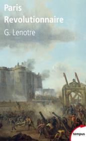 Paris révolutionnaire - Couverture - Format classique