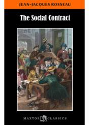Vente livre :  The social contract  - Jean-Jacques Rousseau