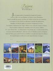 Les Vosges - 4ème de couverture - Format classique