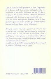 Livre D'Or - 4ème de couverture - Format classique