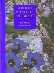 Livre Des Plantes De Rocaille (Le ) - Intérieur - Format classique