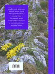 Livre Des Plantes De Rocaille (Le ) - 4ème de couverture - Format classique