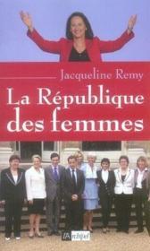 La république des femmes - Couverture - Format classique