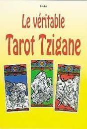 Le véritable tarot tzigane - Couverture - Format classique