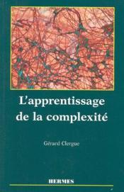 L'apprentissage de la complexité - Couverture - Format classique