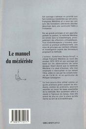 Le Manuel Du Mezieriste T.2 - 4ème de couverture - Format classique