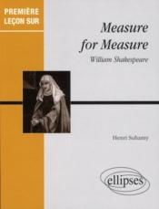 Vente livre :  Measure for measure, william shakespeare  - Suhamy - Henri Suhamy